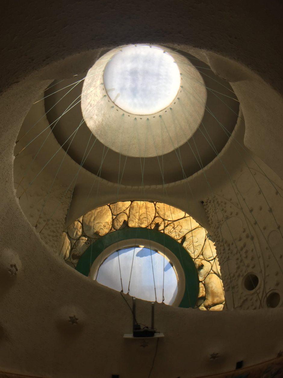 Kreisrundes Treppenhaus