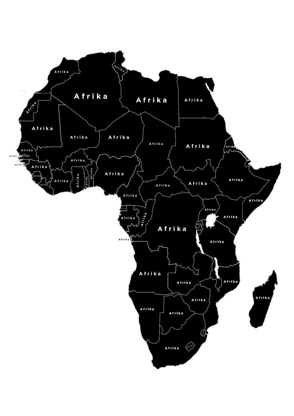 »Es ist der zweitgrößte Kontinent der Erde. Dort leben mehr als 1.000.000.000 Menschen in 54 verschiedenen Ländern. Die Fläche von etwa 30.200.000 km² wird in 6 Zeitzonen unterteilt. Auf dem gesamten Kontinent werden mehr als 2000 Sprachen gesprochen. Und doch ist die Rede immer wieder nur von »Afrika«.«