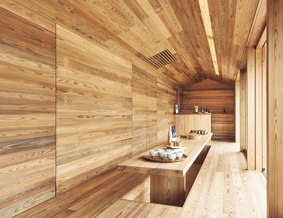 Interieur »Yoshino Cedar House«