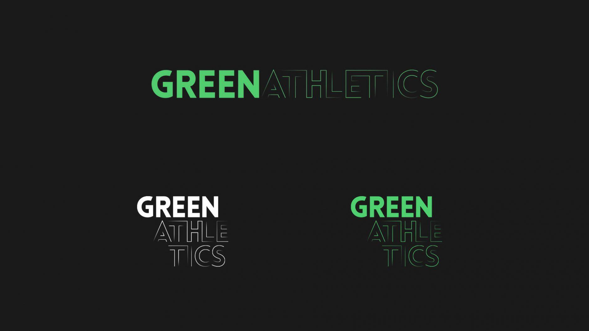 Green Athletics – Logo