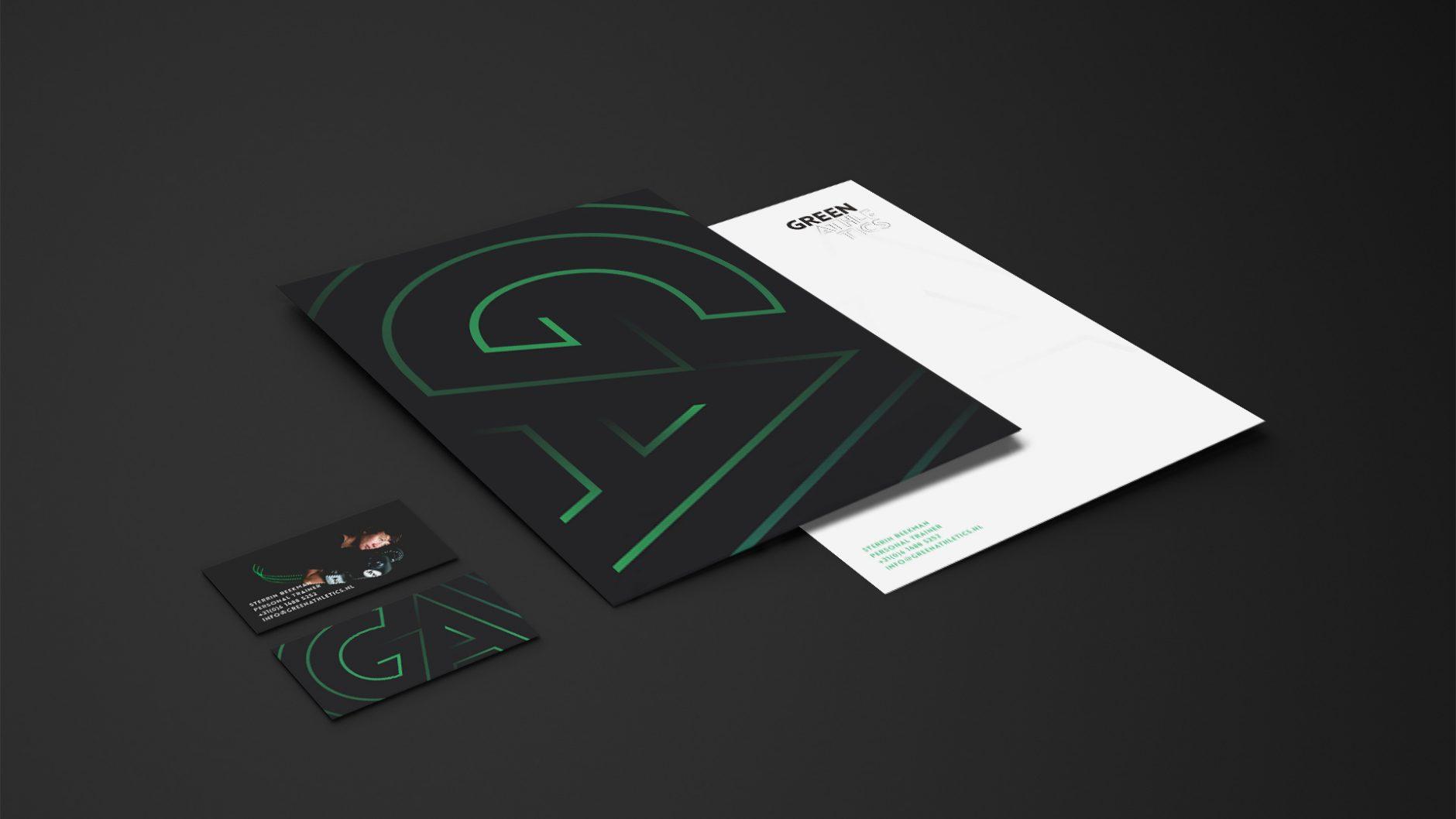 Green Athletics – Briefpapier