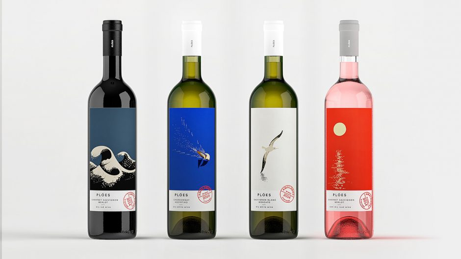 Illustration & Packaging für Amalagos Wineries