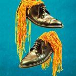 Maurizio Cattelan und Pierpaolo Ferrari, Motiv aus der Serie »Cattelan & Ferrari«, erschienen in »Zeit Magazin 1/16 - 20/16«, nominiert für einen LeadAward in der Kategorie »Still-Life-Fotografie des Jahres«