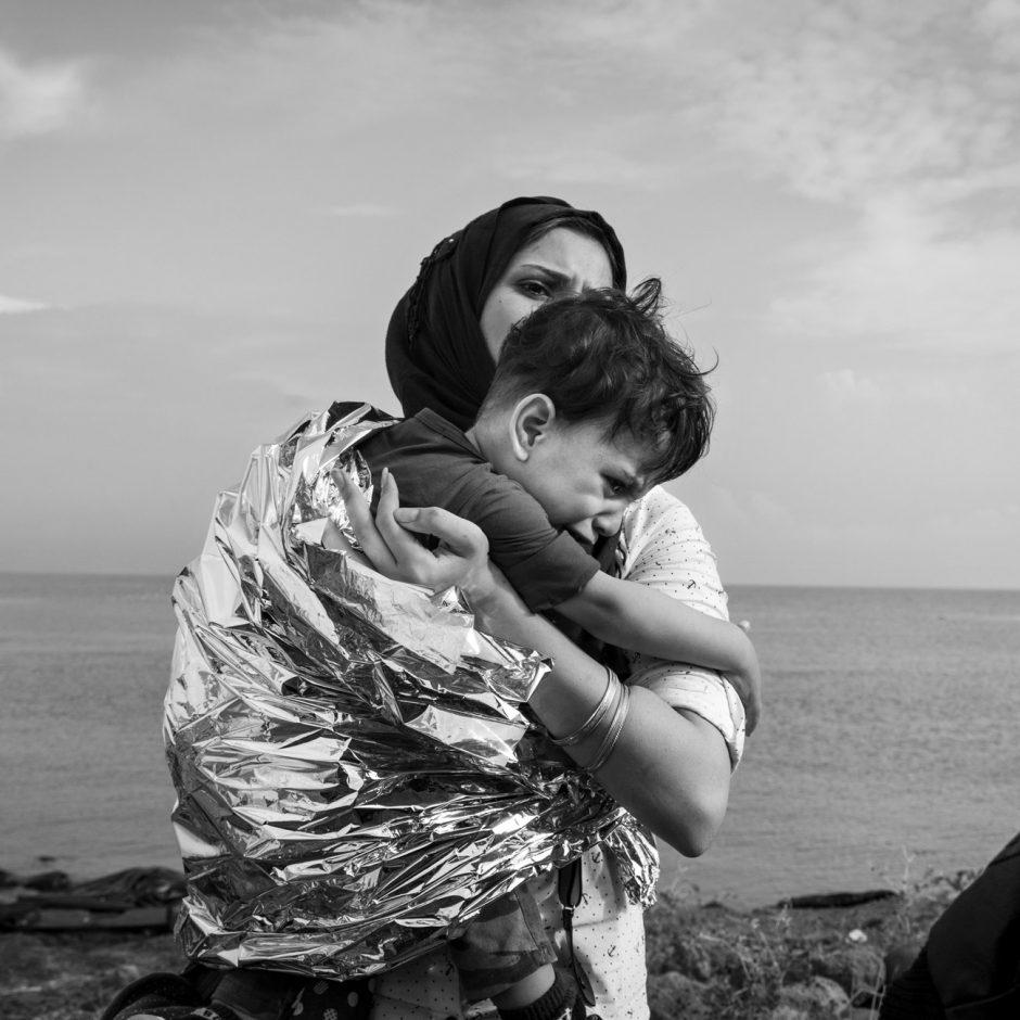 Nikos Pilos, erschienen in »Stern 53/15« zum Artikel »Exodus«, nominiert für einen LeadAward in der Kategorie »Reportagefotografie des Jahres«