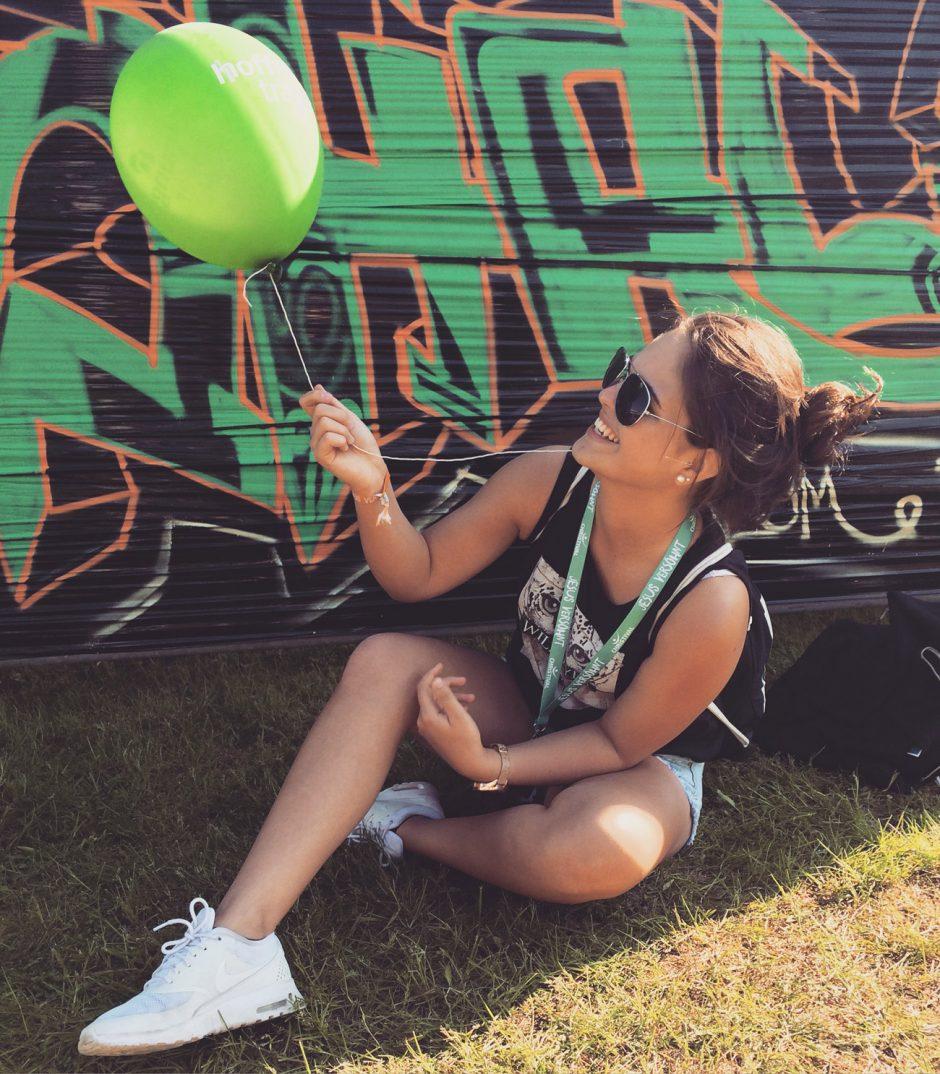 Hoffnungsträger Luftballon