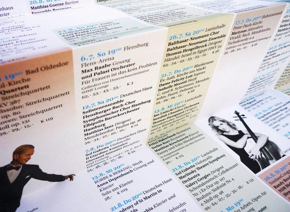 Schleswig-Holstein Musik Festival / Corporate Design