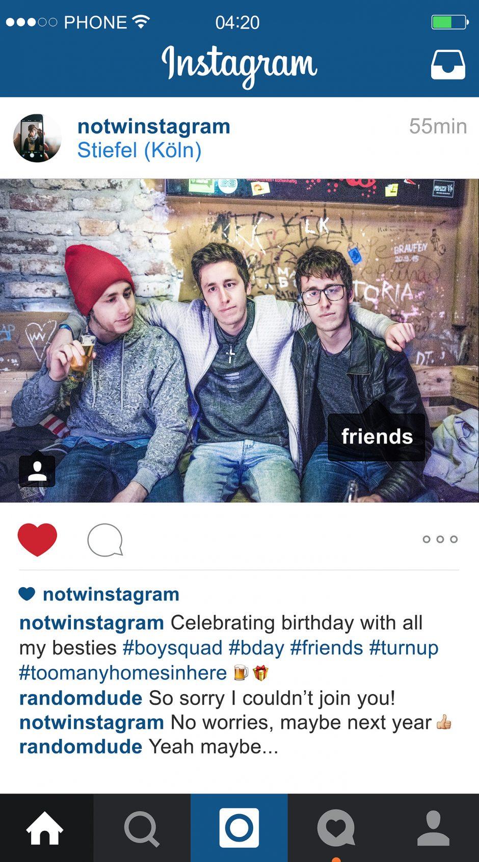NOTWInstagram – Friends
