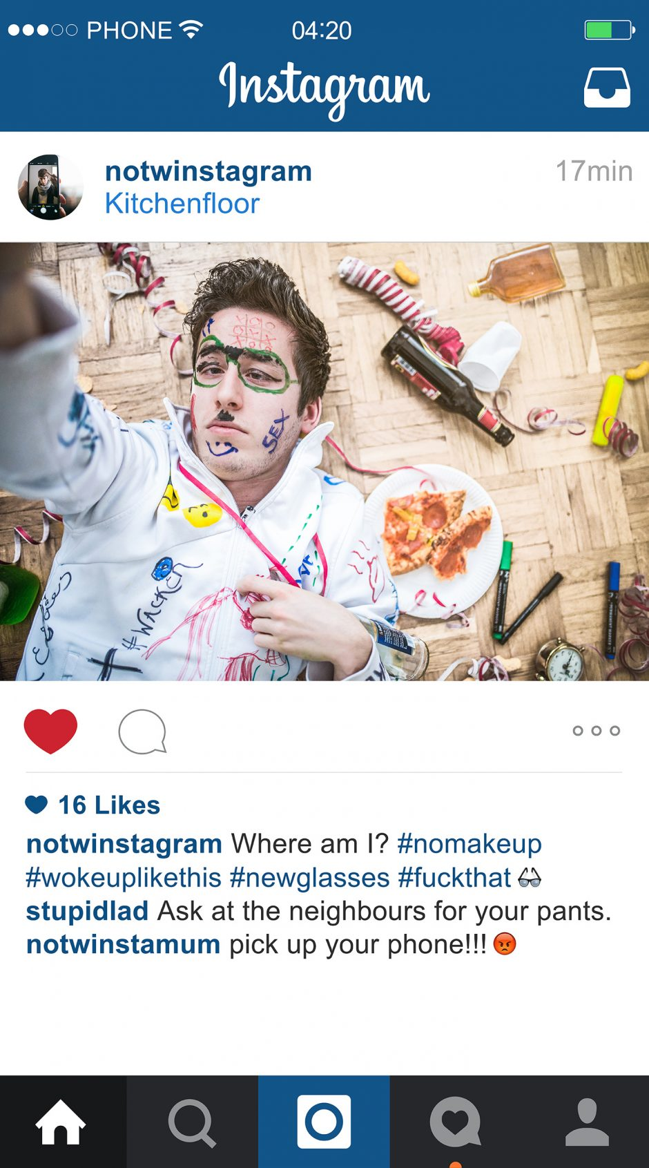 NOTWInstagram – Wokeuplikethis