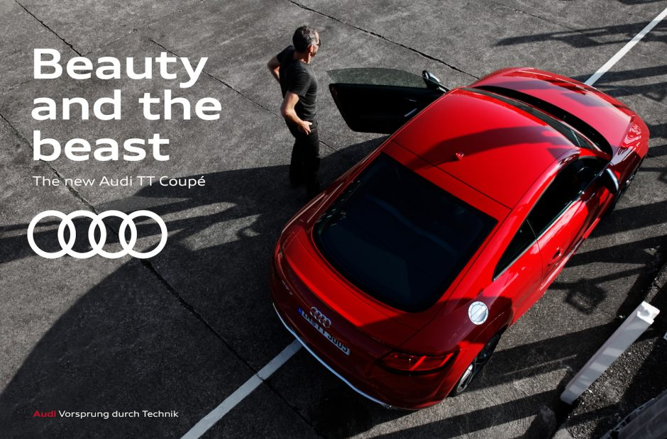 Audi - Corporate Design Beispiel