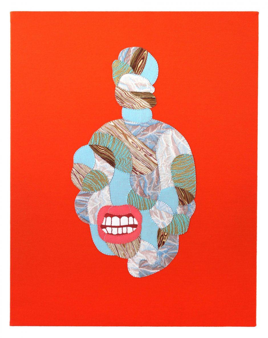 Die Amerikanerin Sarah Trahan setzt Stoff-Flächen zu Bildern zusammen. www.sarahtrahan.com