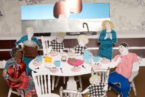Eine der typischen Szenografien des Studios Ingela och Vi (Ingea und Vi) von Artist Elisabeth M. Marttala und Fotograf Peter Turkalj aus Schweden. www.ingelaochvi.com
