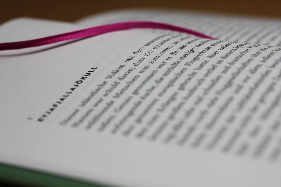 PUNKTUM Verlag: Buchgestaltung Detail