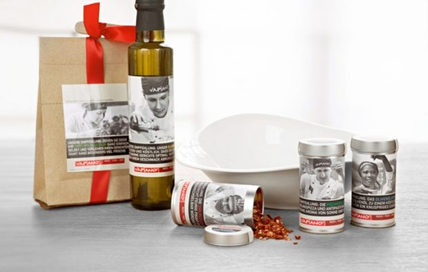 Vapiano: Packaging Design