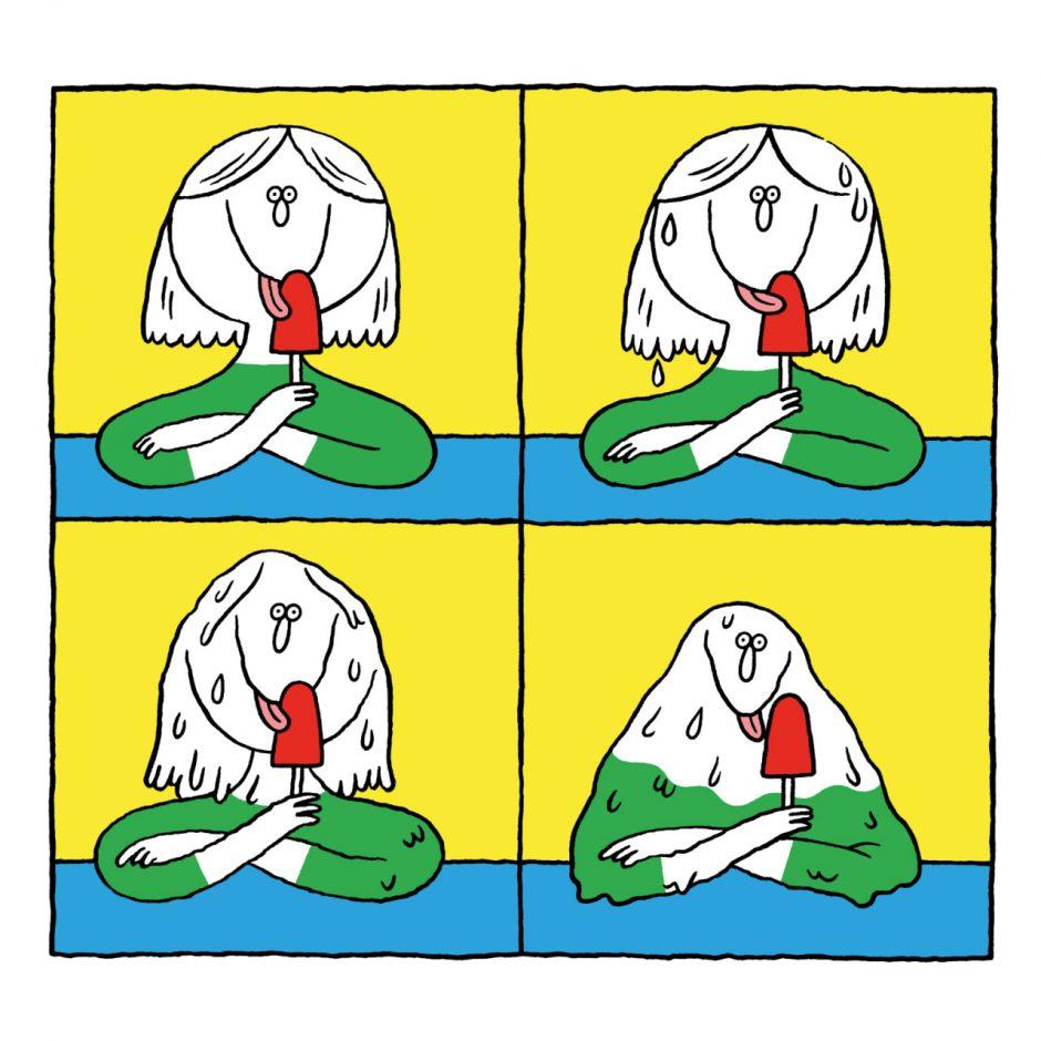 Nadine Redlich: Paniktotem. Kassel (rotopolpress) 2016, 96 Seiten. 16 Euro. 978-3-940304-56-8  Der Titel deutet es an: Es geht um Ängste, Depressionen, Stress und so weiter – aufbereitet mit jede Menge Galgenhumor.