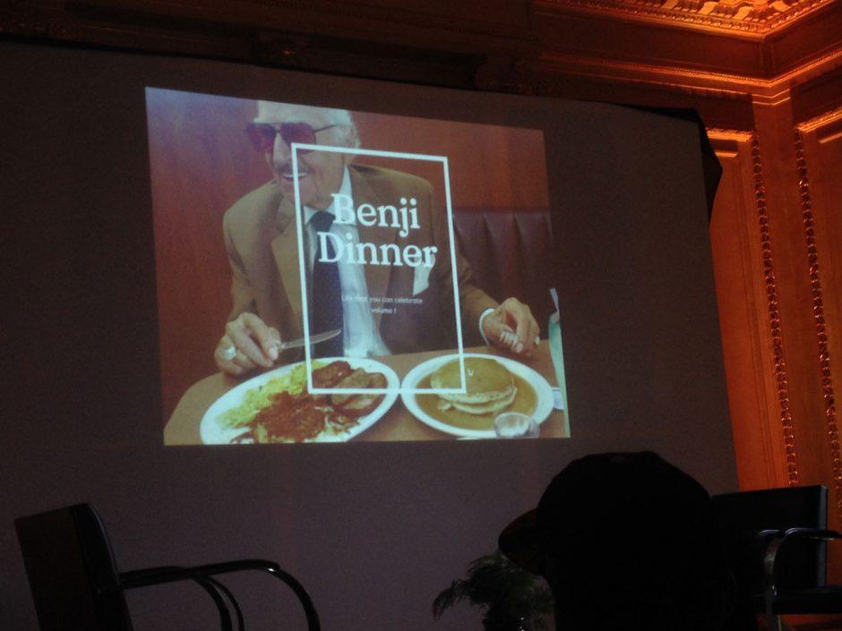 Einladung zum Benji Knewman-Dinner für Fans des Magazins