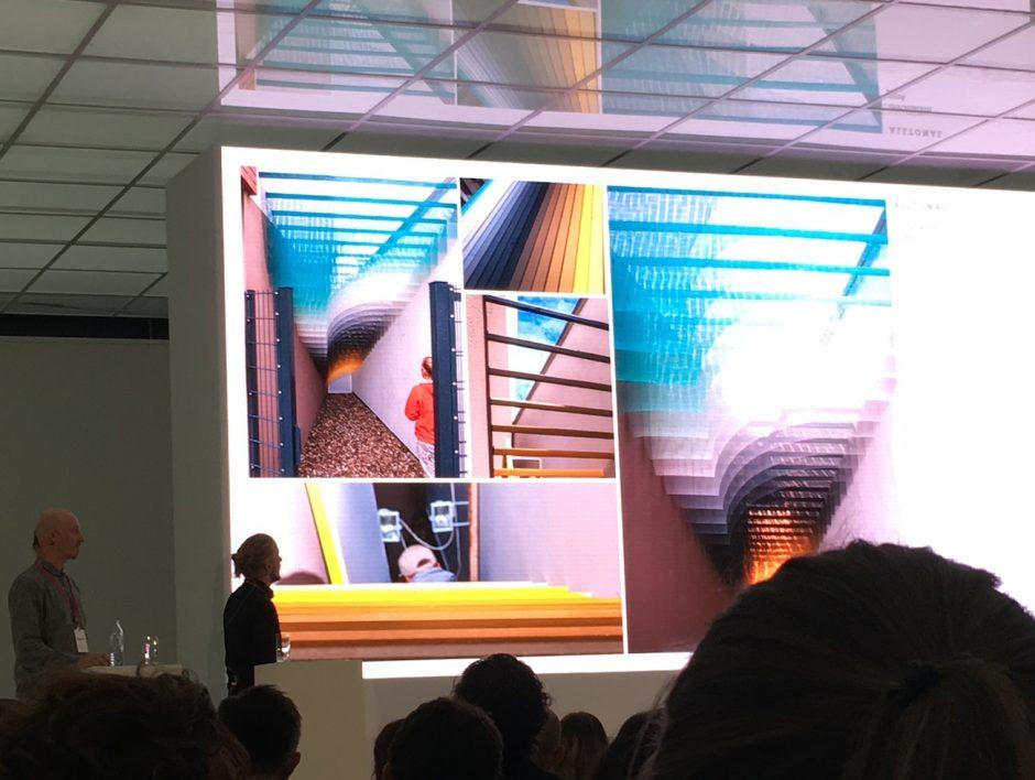 Die Jungs von Quintessenz flashten das Publikum mit ihren bunten Arbeiten, die sie sowohl frei als auch im Kundenauftrag machen