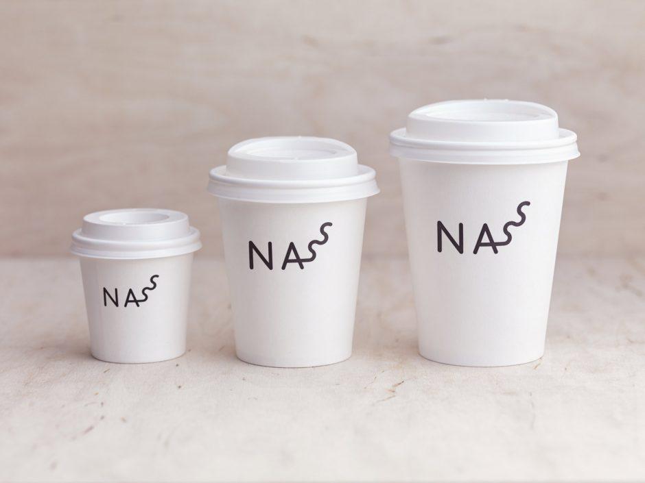 NASS / Juice Bar Identity, Budapest