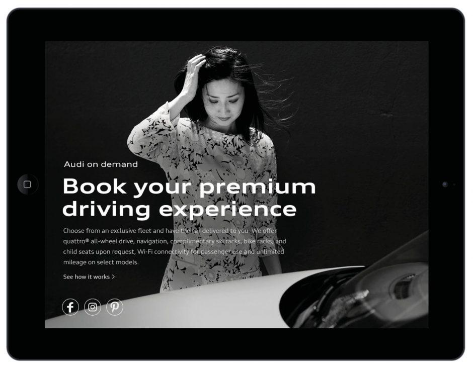 Audi – Corporate Design Beispiel
