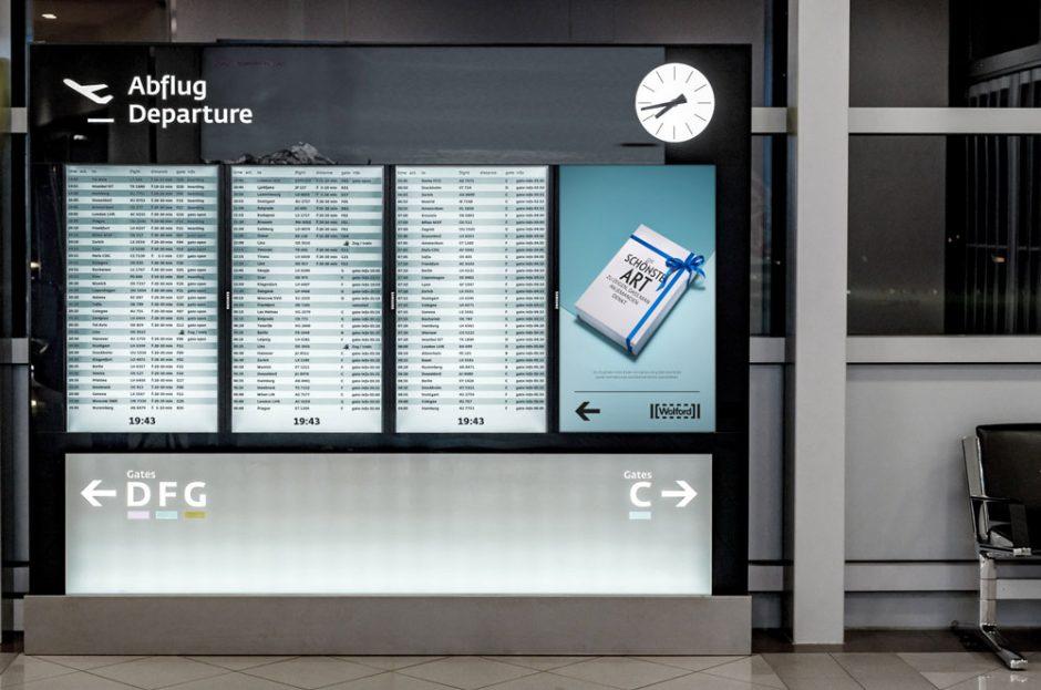 Visual für Bildschirme und Plakate: Anwendungsbeispiel