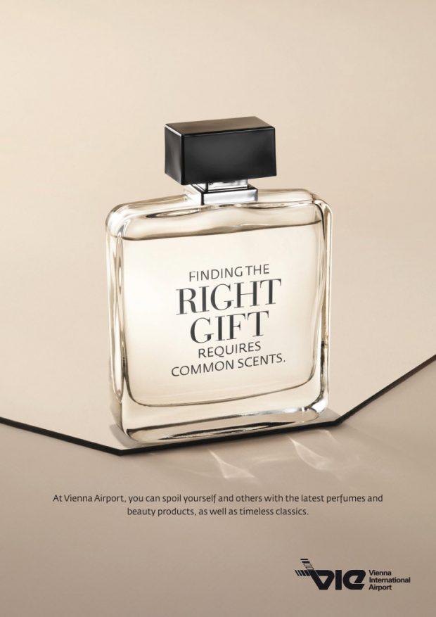 Visual für Bildschirme und Plakate: Parfümerie