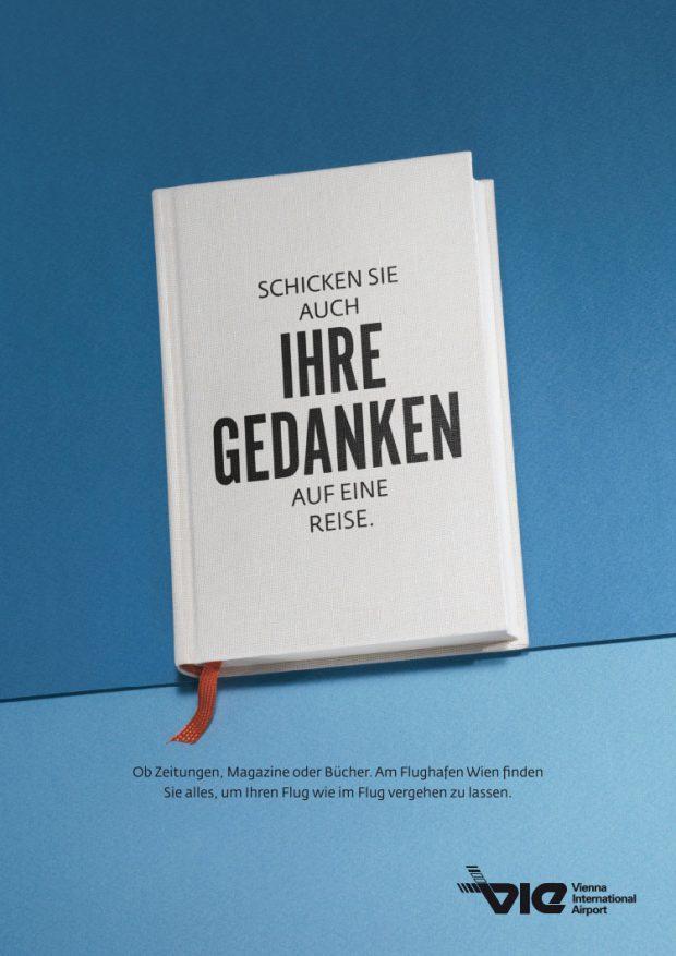 Visual für Bildschirme und Plakate: Presse & Buch