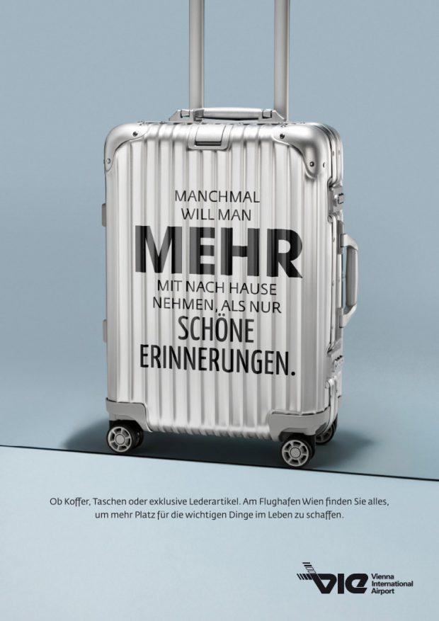 Visual für Bildschirme und Plakate: Koffer, Taschen & Lederartikel
