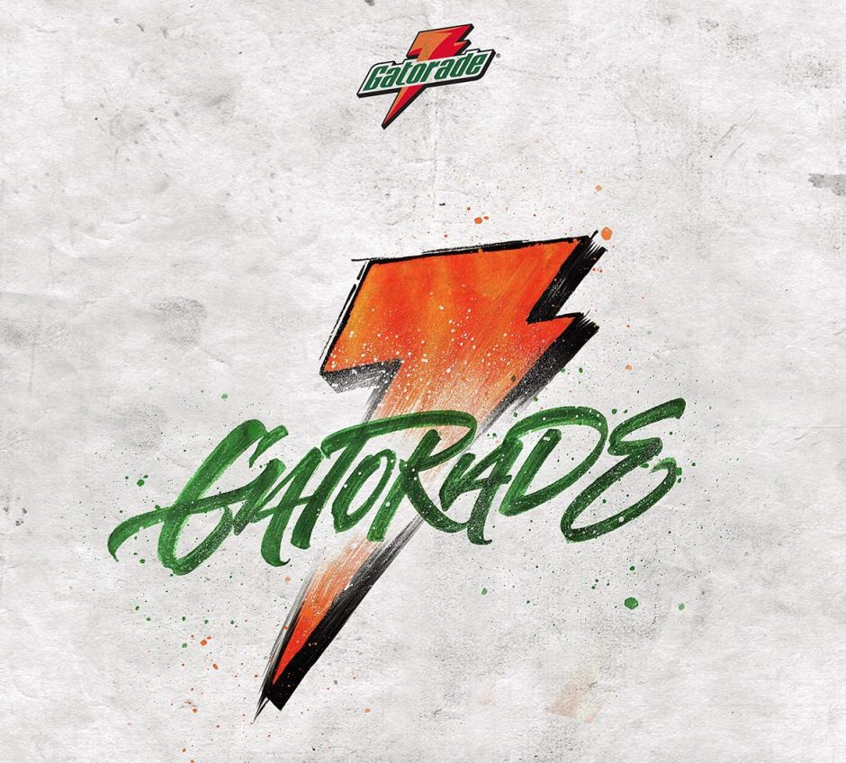 Lettering Logo »Gatorade«
