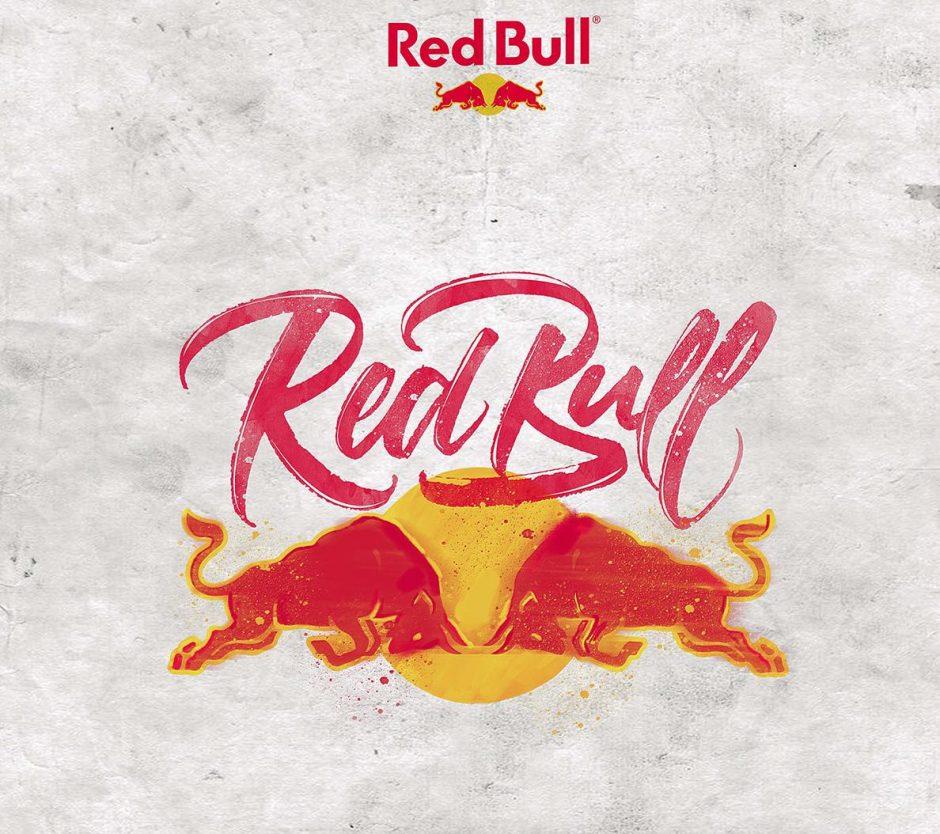 Lettering Logo »Red Bull«