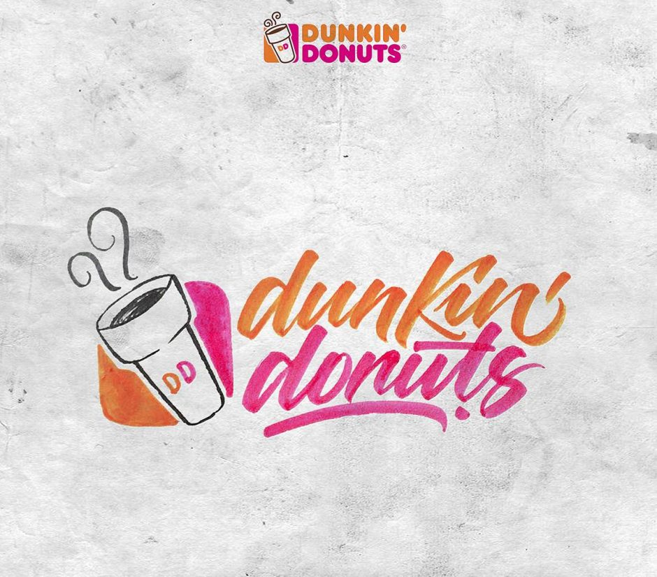 Lettering Logo »Dunkin' Donuts«
