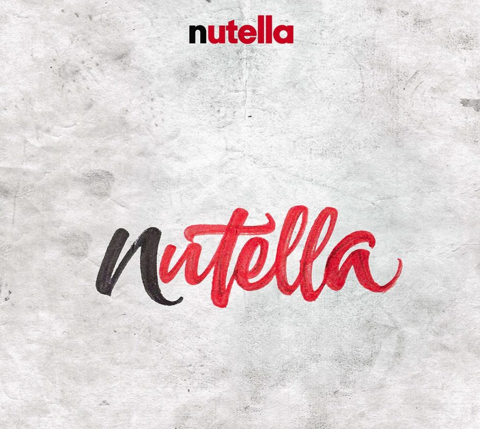 Lettering Logo »Nutella«