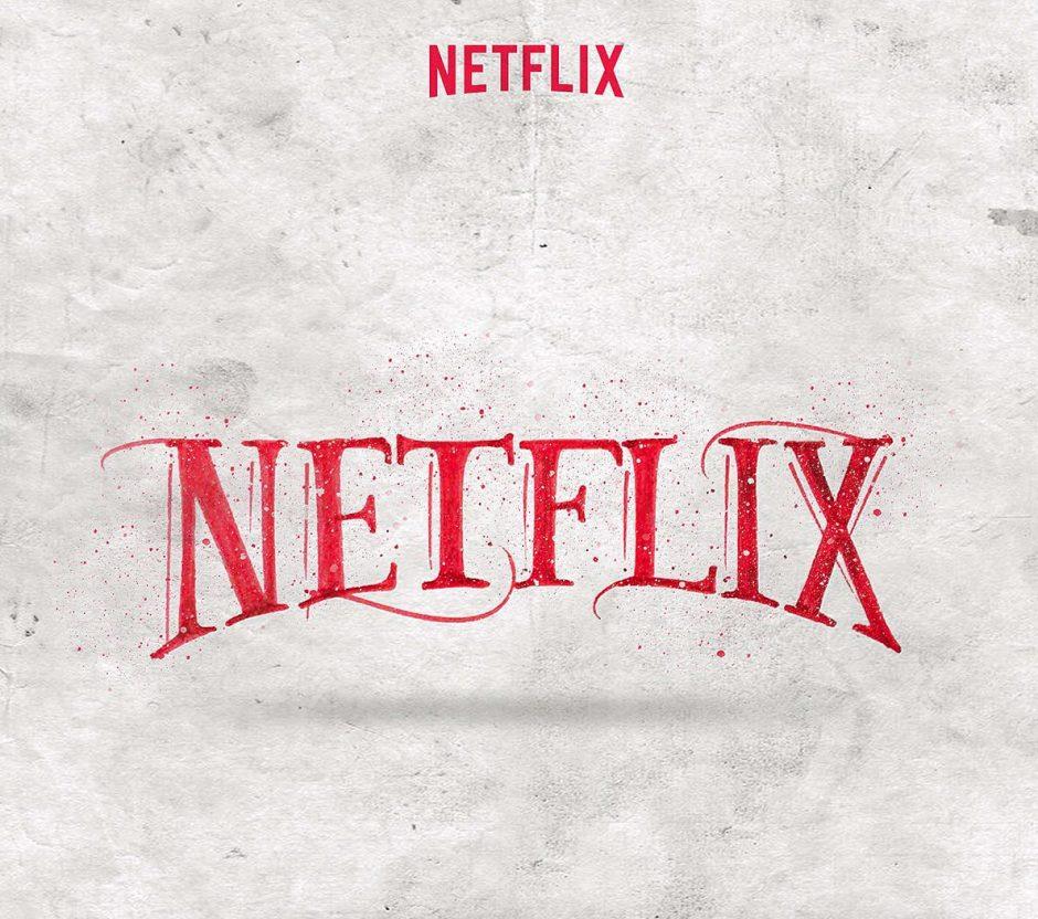 Lettering Logo »Netflix«