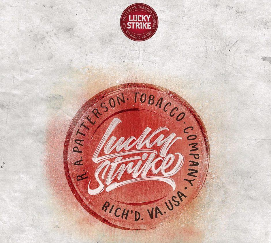 Lettering Logo »Lucky Strike«