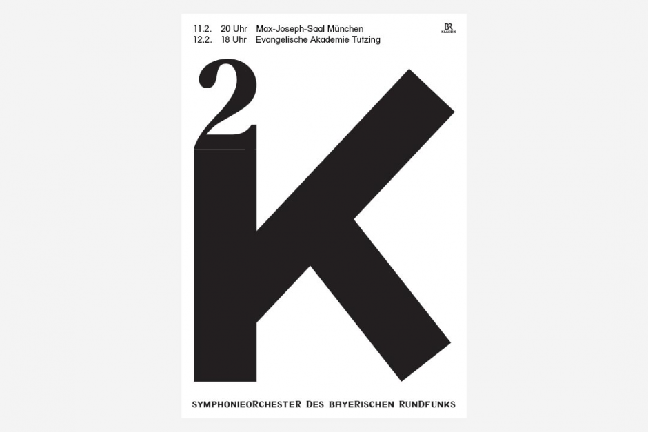 Plakatserie für das Symphonieorchester des BR