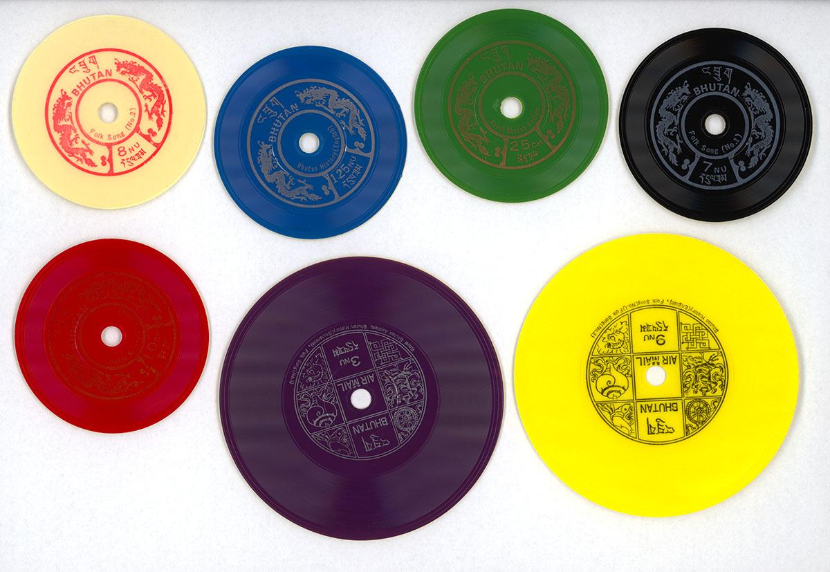 Talking Stamps, 1973