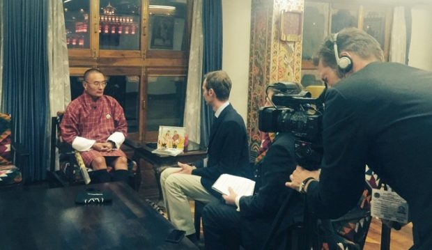 Interview mit Tshering Tobgay, dem Premierminister von Bhutan