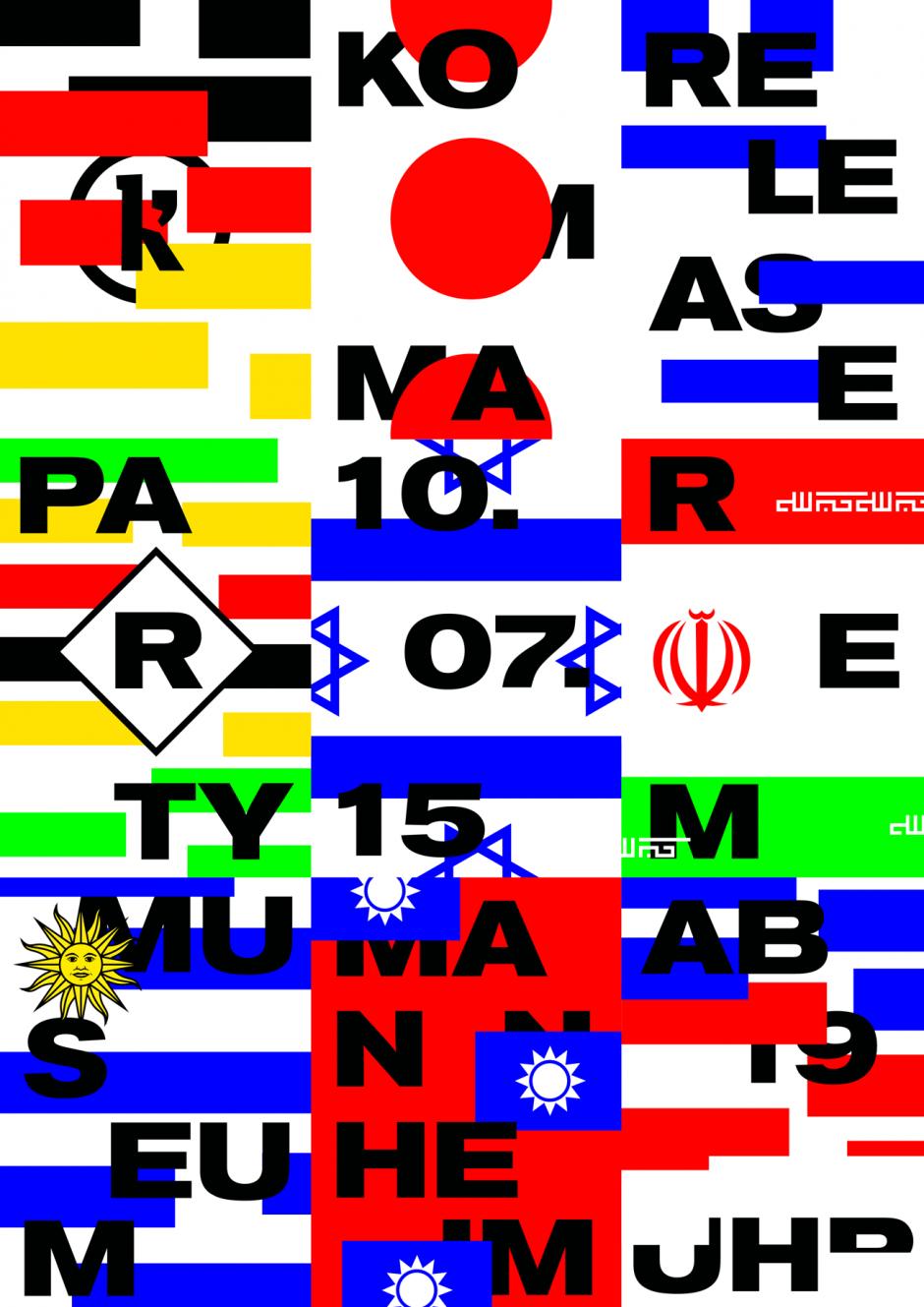 Poster zur Release des komma 16 Magazins