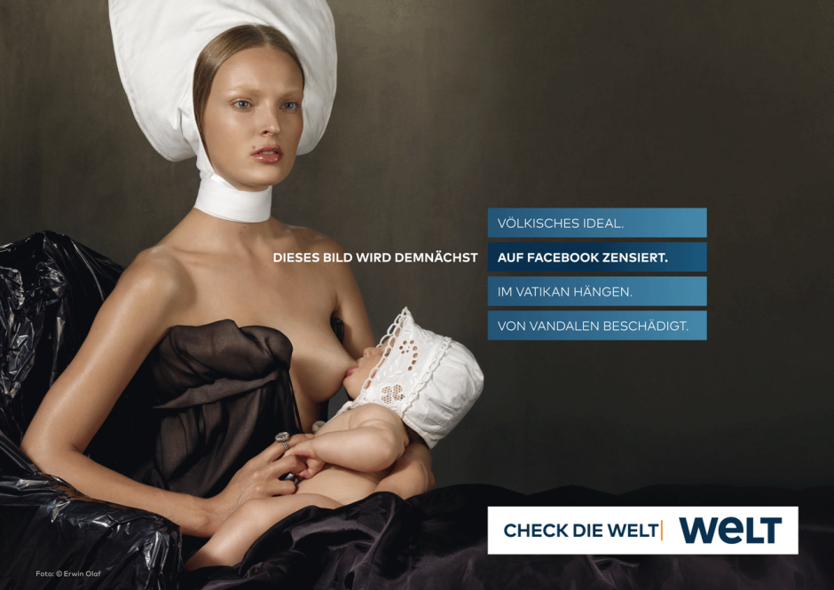 WELT-Kampagne: Motiv Idealfrau
