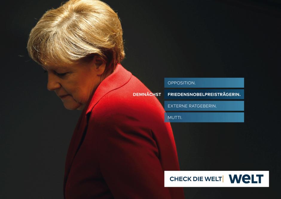 WELT-Kampagne: Motiv Mutti