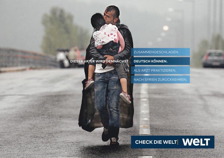 WELT-Kampagne: Motiv Syrer