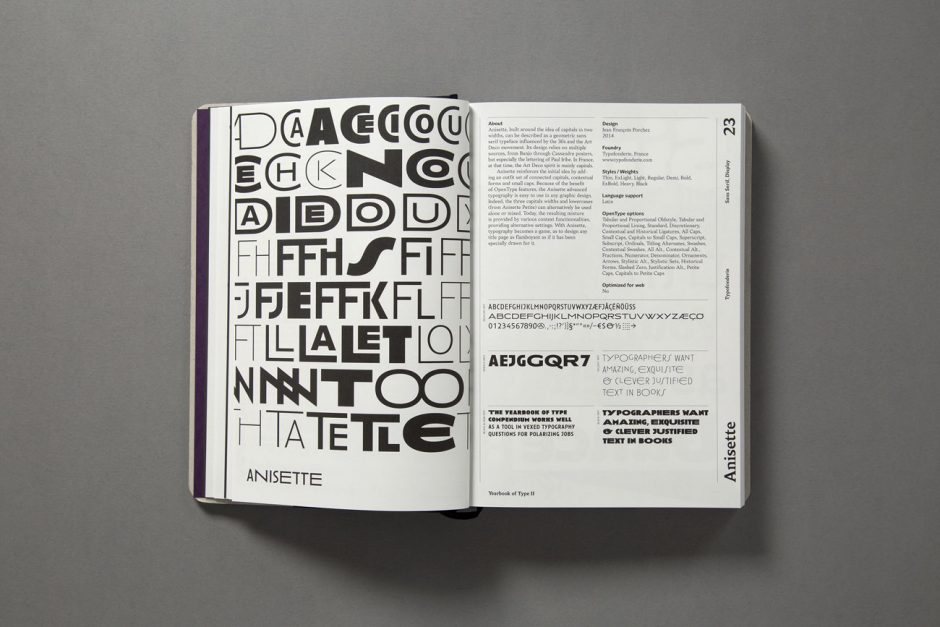 Yearbook of Type