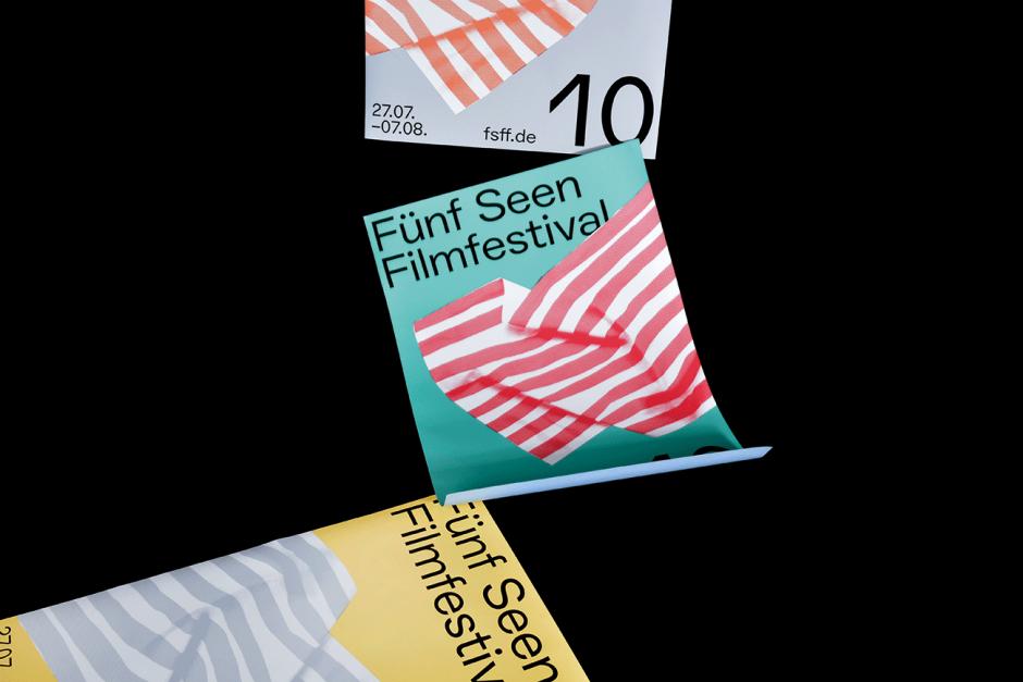 Fünf Seen Festival: Plakate