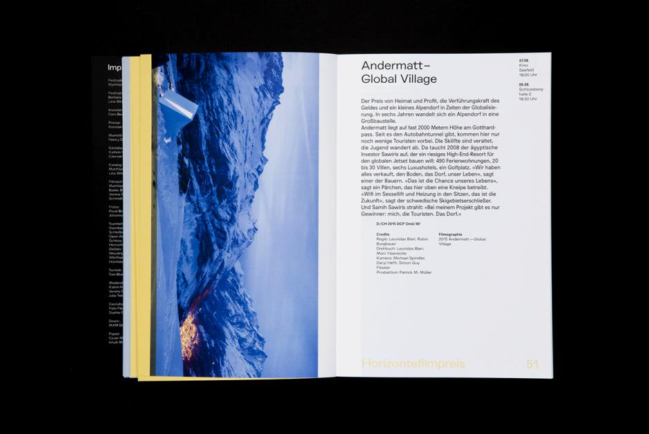 Fünf Seen Festival: Programmbuch
