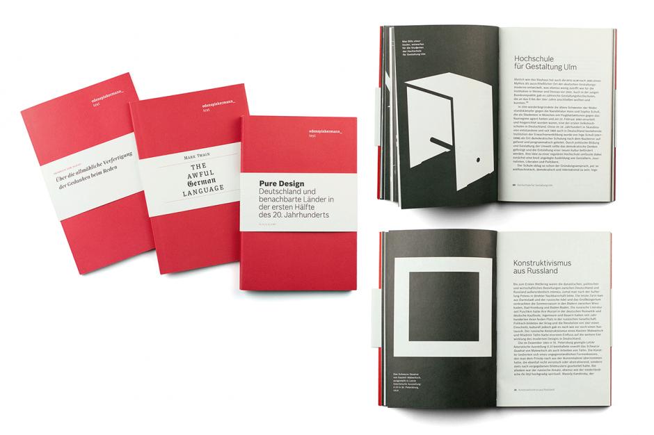 Publikationsreihe »Edenspiekermann_ text«, Berlin 2010–2011