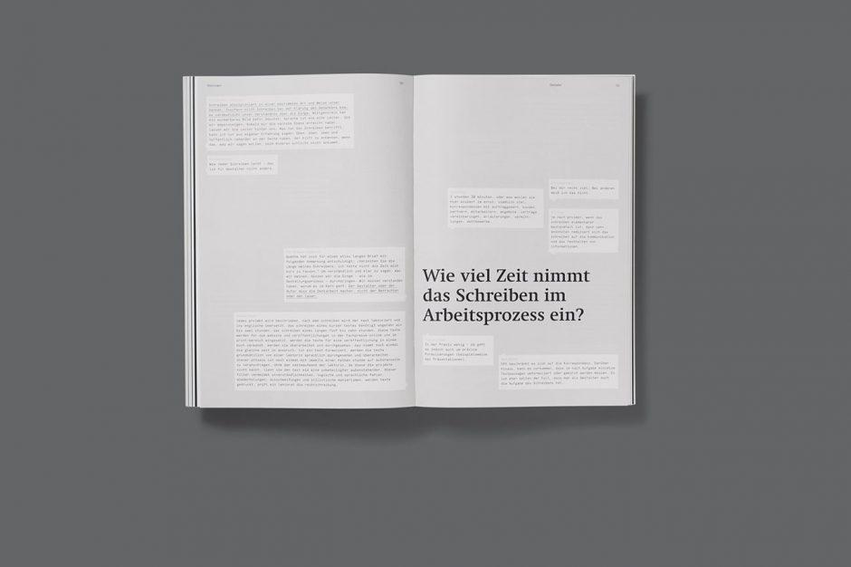 Hochschule für Gestaltung Schwäbisch Gmünd, Projektpartner: Joshua Rudolf, Beratung: Prof. Ulrich Schendzielorz, Prof. Dagmar Rinker,  200 × 297cm, 180 Seiten, 2014