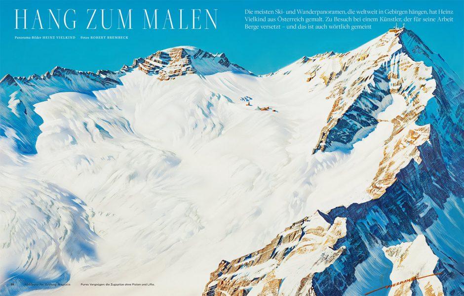 Gold: SZ-Magazin Nr. 04/2016, »Hang zum Malen«, Illustrator Heinz Vielkind