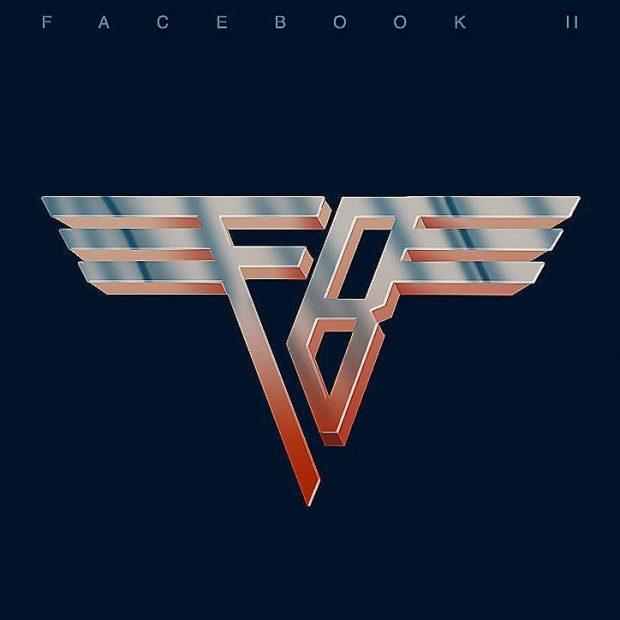 Facebook vs Van Halen