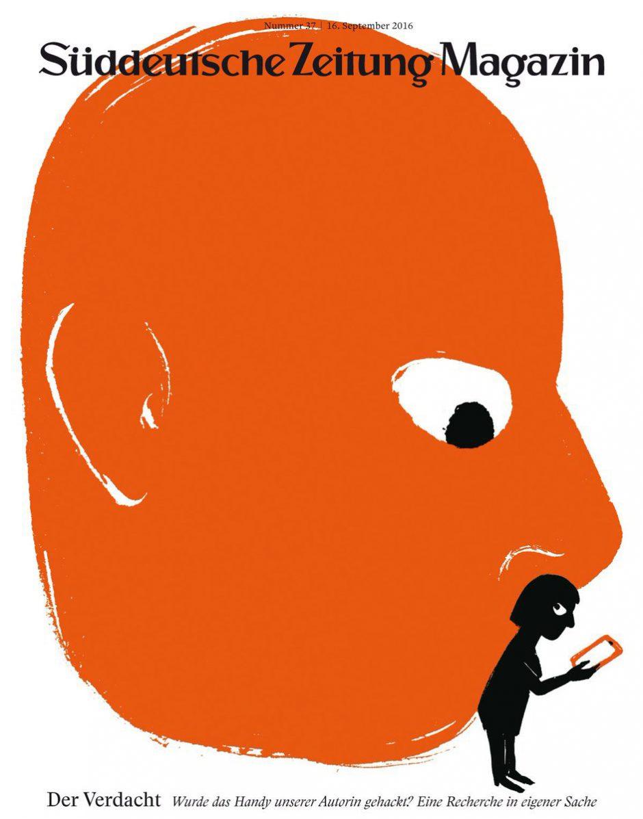 Gepflegter Retro-Stil, modernes Thema: eine Illustration von Nishant Choksi fürs »SZ-Magazin. www.nishantchoksi.com