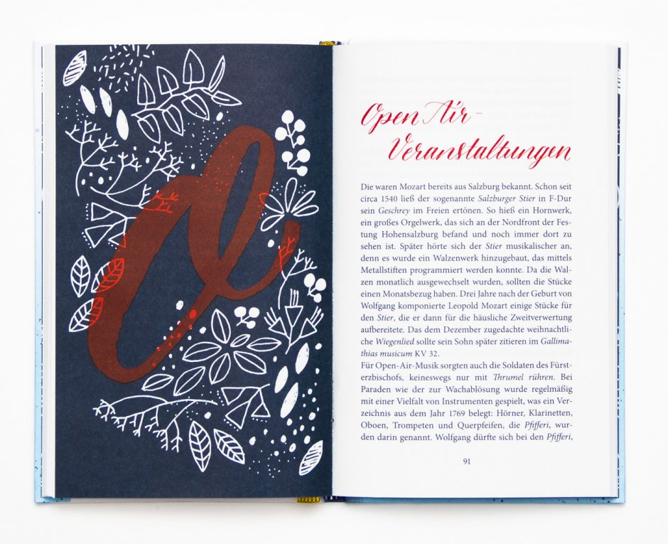 Umschlaggestaltung und Innenillustrationen für ein Geschenkbuch, Verlag C. H. Beck, 2015