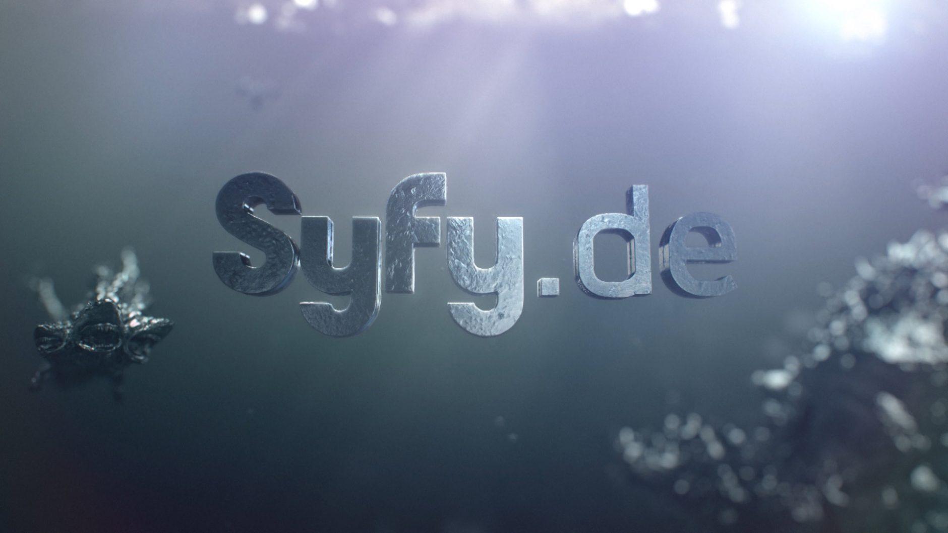 In der 3D-Animation zur Bleigieß-Aktion von Syfy sieht man bis ins kleinste Detail, was Wasser aus flüssigem Blei macht