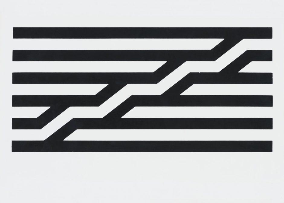 Visuel Design, Jean Widmer, Centre Georges Pompidou, Signet Andruck, 1977, Museum für Gestaltung Zürich, Grafiksammlung